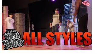 Furious Styles (USA) vs Trevell Johnson and Charles Park (USA) All Styles Top 16
