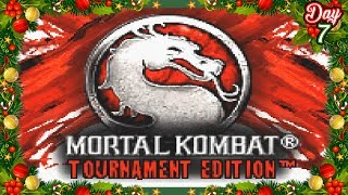 Mortal Kombat: Tournament Edition Review -  GBA - The 12 Days of Mortal Kombat Christmas - (Day 7)