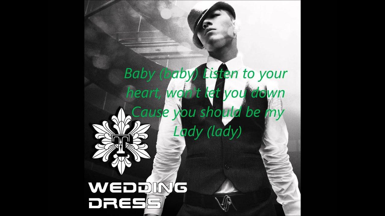 Taeyang Wedding Dress English Version Lyrics Youtube