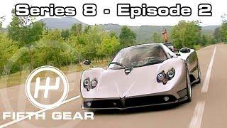 Fifth Gear Series 8 Episode 2 смотреть