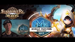 Summoners War YDCB MOBILE MASTER INVITATIONAL Fights June 2017