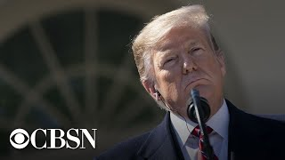 Watch live: President Trump holds a press briefing