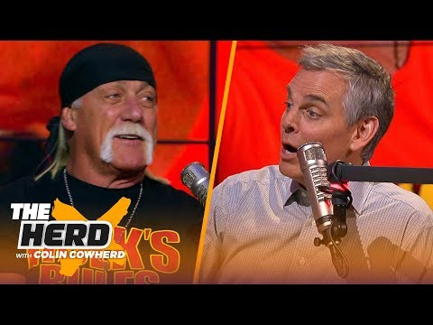 Hulk Hogan: I Kicked The Door Open For Wrestling, The Rock Ripped The Door Off | WWE | THE HERD