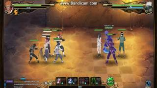 Naruto Online Ninja Exam Lv 95 | Earth Main (Crimson Fist)