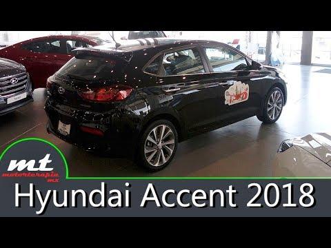 Hyundai Accent Hatchback 2018 Vista R pida MotorTerapia