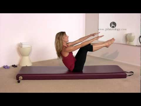 Pilates Teaser Exercise with Alisa Wyatt