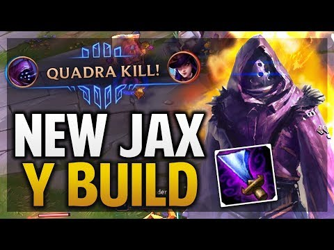 ¡NUEVO JAX Y  BUILD SUPER OP CAMBIAN LA JUNGLA  League of Legends