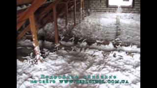 утепление дома, кирпичных стен и потолков