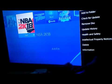 How to remove disc on ps4 using controller
