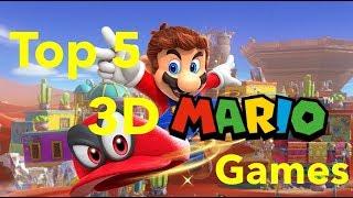 Top 5 3D Mario Games