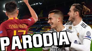 Canción Roma vs Real Madrid 0-2 (Parodia Celoso - Lele Pons) Re-Re-Resubido