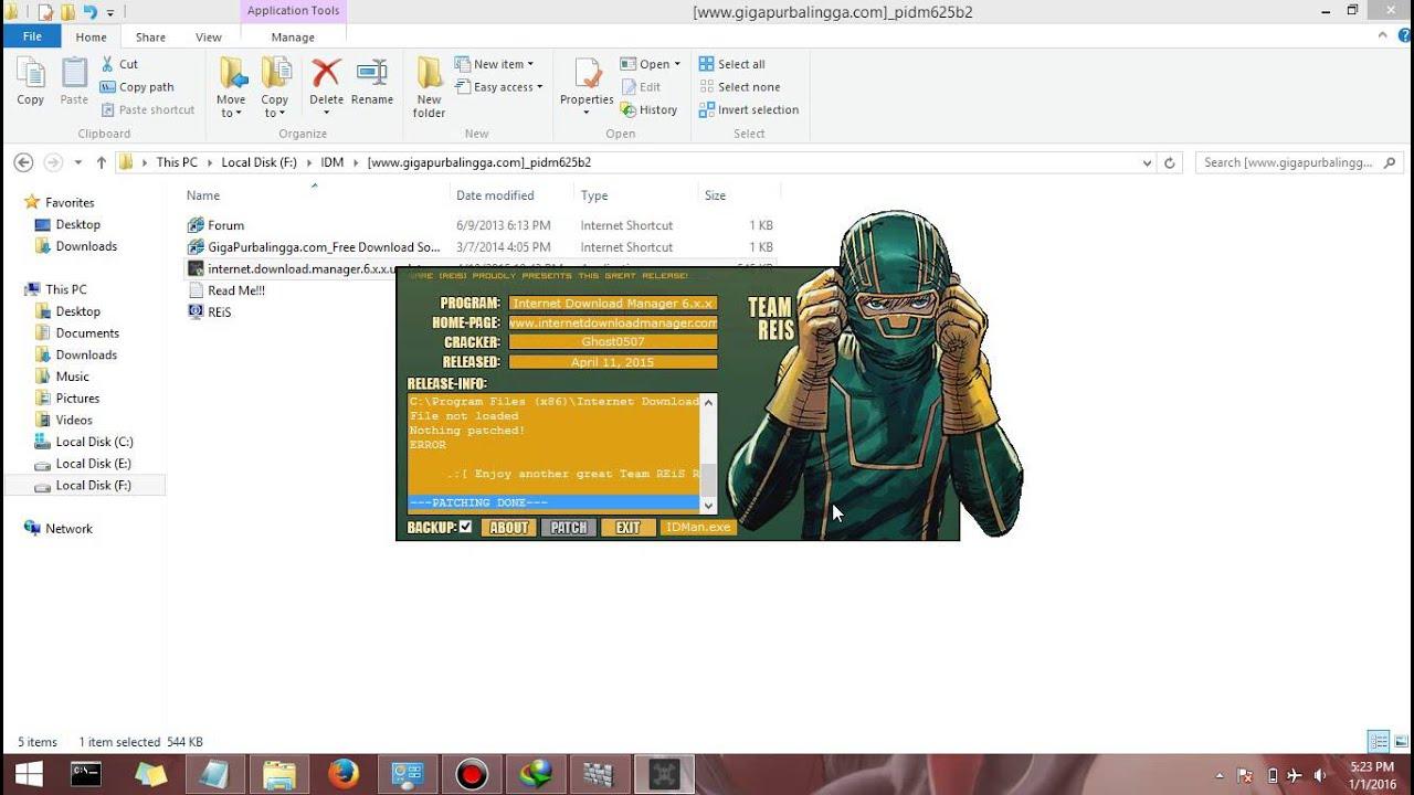 tutorial cara install IDM terbaru di WIN 8.1 full crack - YouTube