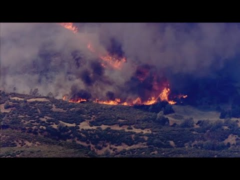 wine article Northern California wildfire forces evacuations
