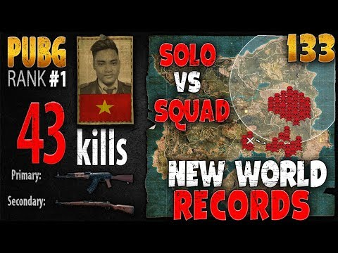 [Eng Sub] PUBG Rank 1 - Rip113 - 43 kills [AS] Solo vs Squad - PLAYERUNKNOWN'S BATTLEGROUNDS #133