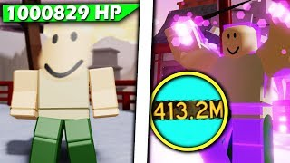 TESTING THE DUMBEST LOADOUTS!! (400M damage & 1M health) | Roblox Dungeon quest