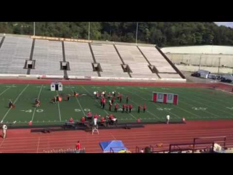 Poca High School Marching Band at Laidley Field 10/15/16