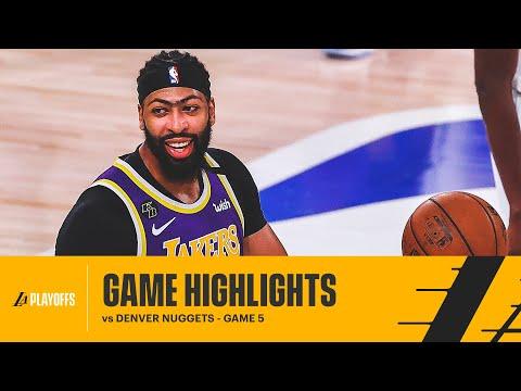 HIGHLIGHTS | Anthony Davis (27 pts) vs Denver Nuggets