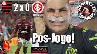Pós-Jogo! Mengão 2x0 Inter! Quartas-de-final da Copa Libertadores 2019! Entrevistas na Zona Mista!
