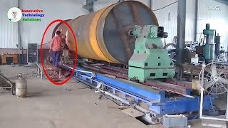 Awesome technology cnc lathe huge chuck the world