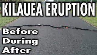 Hawaii Kilauea Volcano Eruption Before During After LATT #6