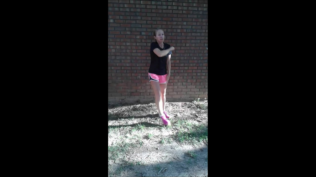 Youtube Instructional Eyeshadow Tattoo Makeup: ET Booth Cheer Tryout 2015 Dance Instructional (B