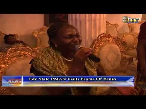 Edo State PMAN Visits Esama Of Benin