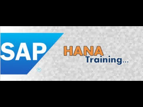 SAP HANA DEVOLOPMENT AND ADMINISTRATION  online training and certification