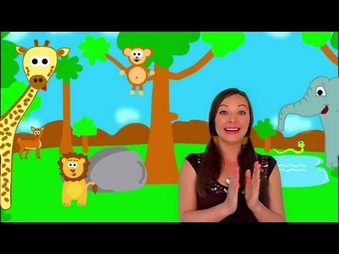 Fun Song for Children - Where's the Monkey?