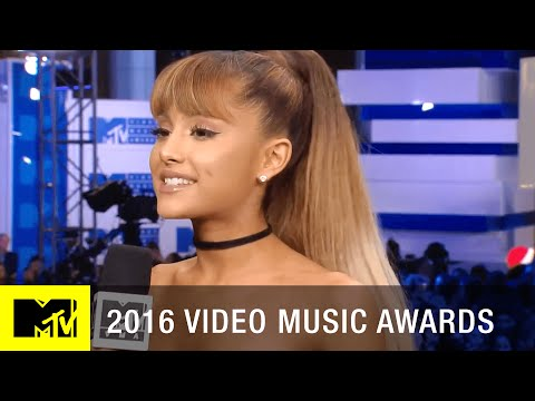 Ariana Grande On Her Performance W/ Nicki Minaj | 2016 Video Music Awards | MTV
