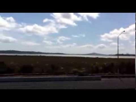 Northwestern Motorway and Waitemata Harbour