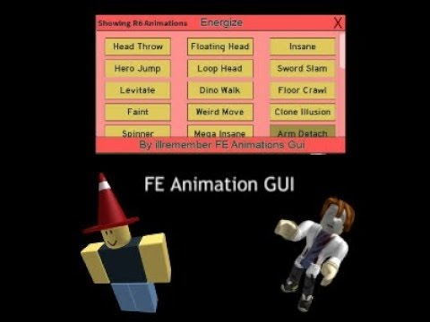 ROBLOX SCRIPT GUI FE ANIMATION GUI
