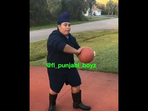 When Thicc plays Basketball! Fl Punjabi Boyz Gutti Gang