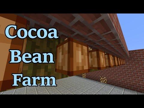 Minecraft: Cocoa Bean Farm Tutorial