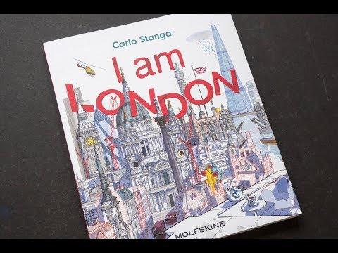 I am London by Carlo Stanga (book flip)