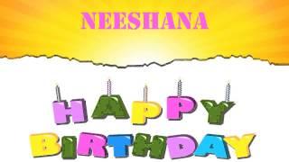 Neeshana Birthday Wishes & Mensajes