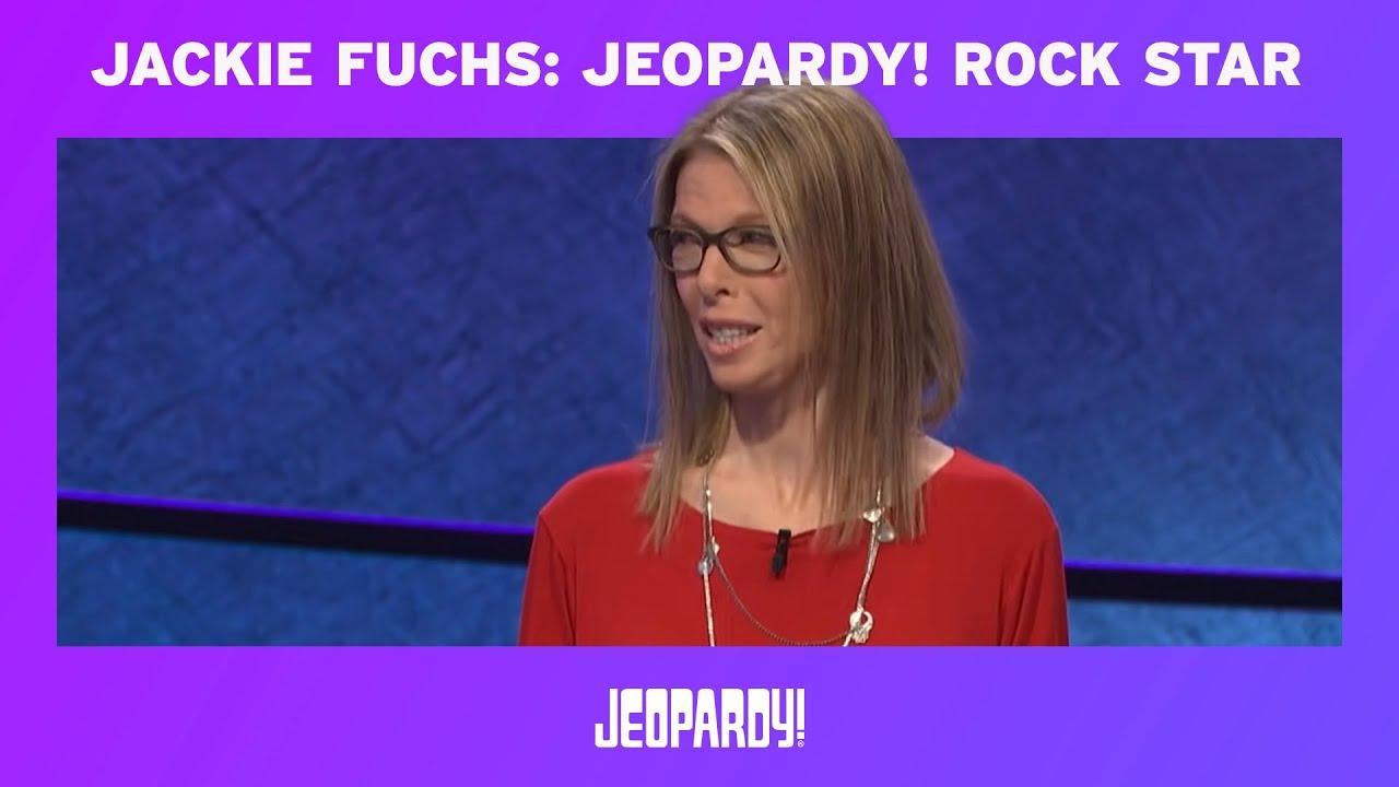 Ex-Runaway Jackie Fuchs Walks Away with 'Jeopardy!' Glory – Variety