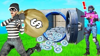 Download 4 Million VBucks BANK HEIST Roleplay! (Fortnite Creative) Mp3 and Videos