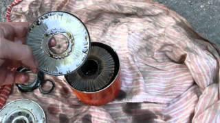 Масляный фильтр Альфа AF 251 изнутри.