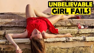 (TRY NOT TO LAUGH)-Insanely Funny girl fails that will have you falling over laughing MUST SEE