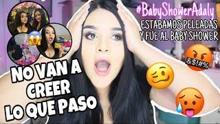 TODO LO QUE PASO EN MI BABY SHOWER ¿P3LEA? ¿ABRIENDO REGALOS? - Diana Estrada