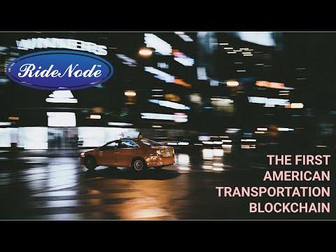 RideNode - первый американский транспортный блокчейн.