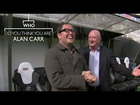 Alan Carr Meets His Dad At Newcastle United - Who Do You Think You Are?