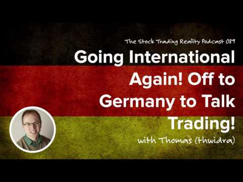 STR 089: Going International Again! Off to Germany to Talk Trading! (audio only)