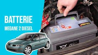 Changer la Batterie MEGANE 2 1.5 DCI 🔋