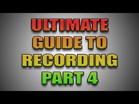 Ultimate Guide To Recording - Part 4 - Microphone Positions And Distance