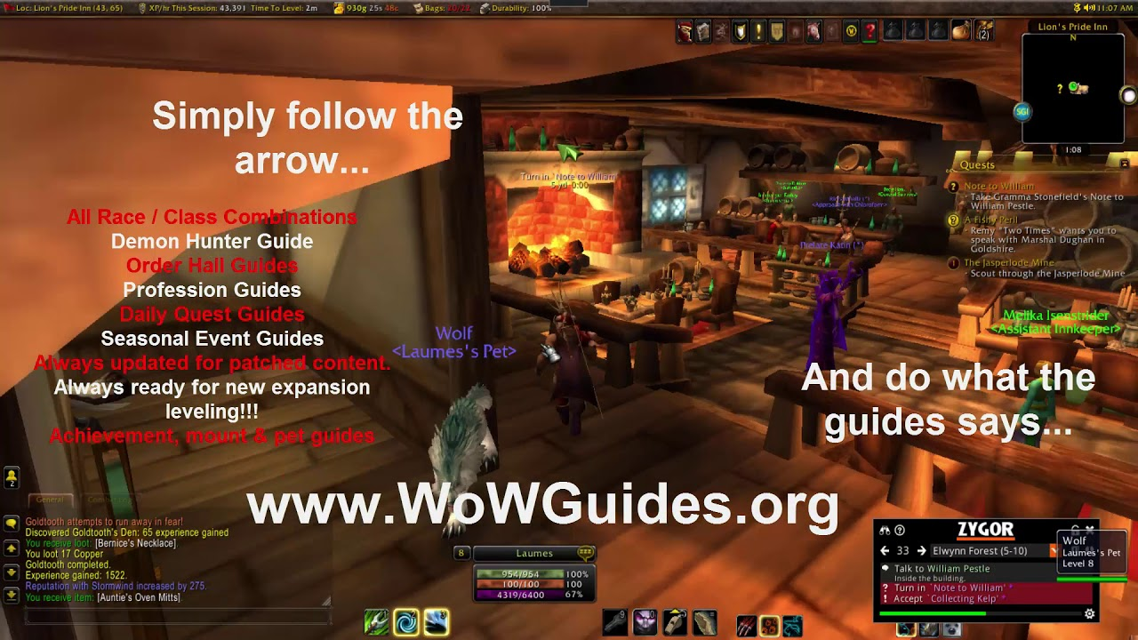 The Fastest Way To Level in WoW - Best WoW Leveling Addon