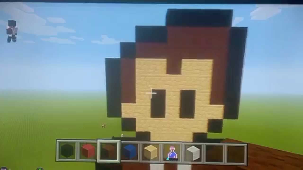 Minecraft Tutorial How To Make Doctor Who Pixel Art