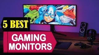 5 Best Gaming Monitors 2018 | Best Gaming Monitors Reviews | Top 5 Gaming Monitors