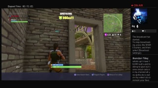 Fortnite epic Gameplay trying to get the minigun