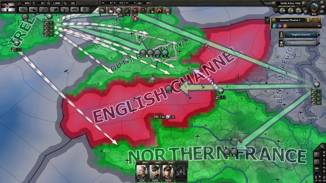 [HOI4] Capitulating France & UK in 8 days
